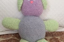 The Bouncy Bouclé Crochet Bunny