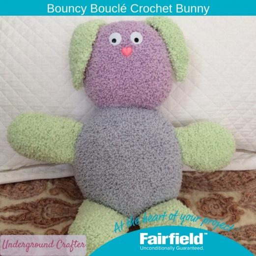 Bouncy Bouclé Crochet Bunny