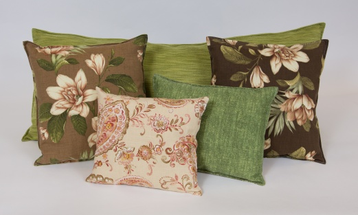 Recycled Remnant Pillows