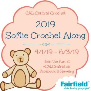 2019 Softie Crochet Along with CAL Central Crochet and Fairfield World