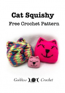 Cat Squishy Free Crochet Pattern By Goddess Crochet