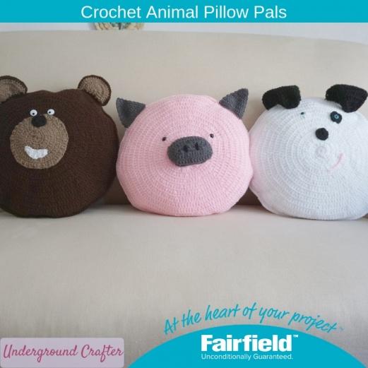 Crochet Animal Pillow Pals