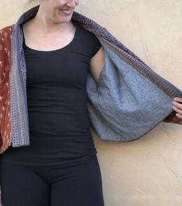 Wiksten Haori With Batting Sewn By Melissa Quaal Of A HAPPY STITCH The Espadrilles Kit 11