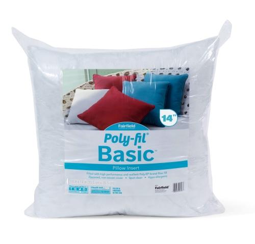 Poly-Fil®  Basic Pillow – 14″ x 14″