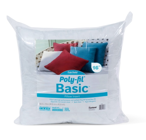 Poly-Fil® Basic Pillow Insert  16″ x 16″