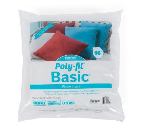 Poly-Fil® Basic Pillow Insert  16″ x 16″