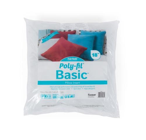 Poly-Fil® Basic Pillow – 18″ x 18″