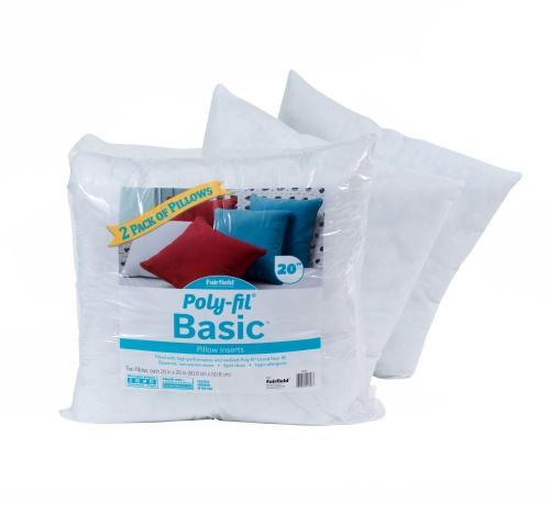 Poly-Fil® Basic Pillow Insert  20″ x 20″