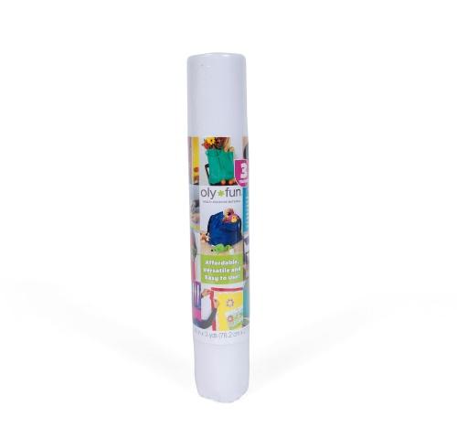 Oly-Fun –  Craft Fabric – Snow White 30″ x 3 yd. – 4 pk.
