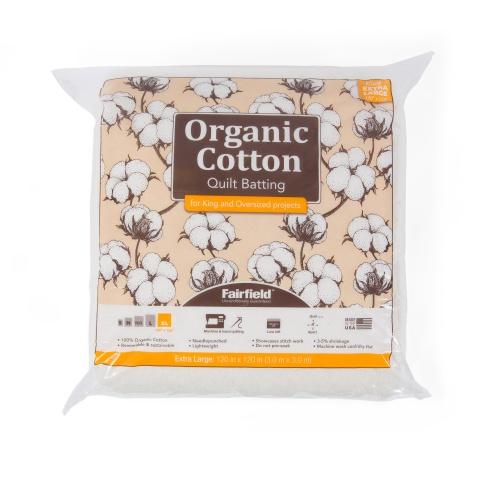 Organic Cotton Classic® Batting 120″ x 120″