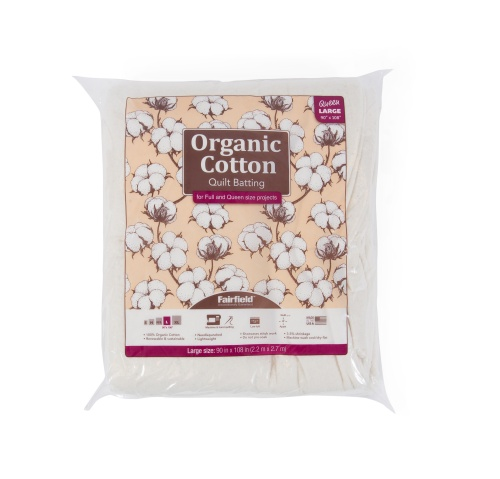 Organic Cotton  90″ x 108″