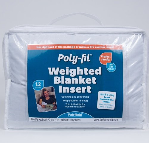 Poly-Fil® Weighted Blanket Insert 42″ X 72″ 12 Lb.