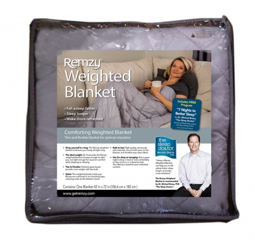 Remzy Basic Weighted Blanket 12 lbs. 42″ X 72″