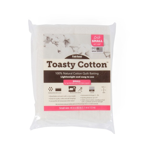 Toasty Cotton Batting – 45″ x 60″ Folded