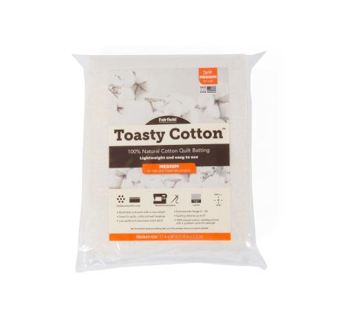 Toasty Cotton Batting – 72″ x 90″ folded