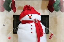 Giant Plush Snowman DIY