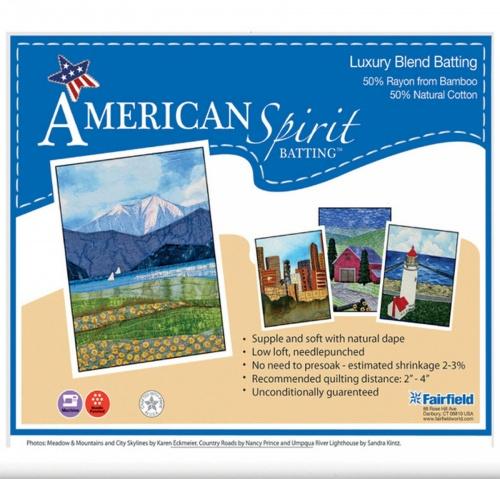 American Spirit Batting™ Luxury Blend 45″ x 60″