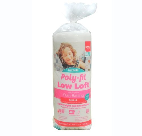 Poly-Fil Low-Loft® Batting 45″ x 60″