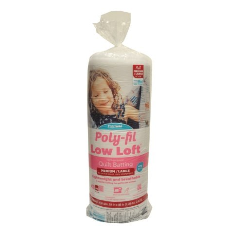 Poly-Fil Low-Loft® Batting 81″ x 96″