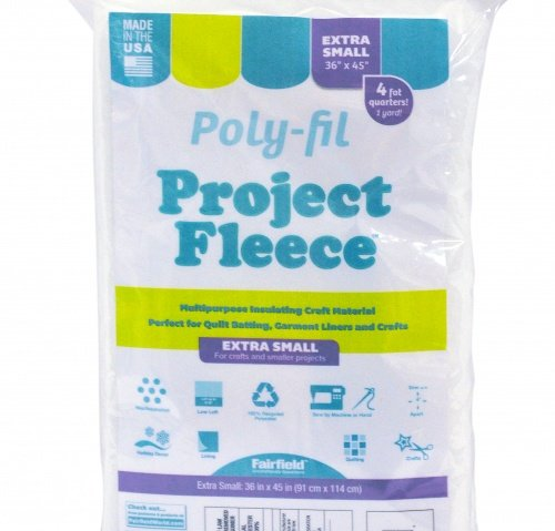 Poly-Fil® Project Fleece™ Batting 36″ X 45″