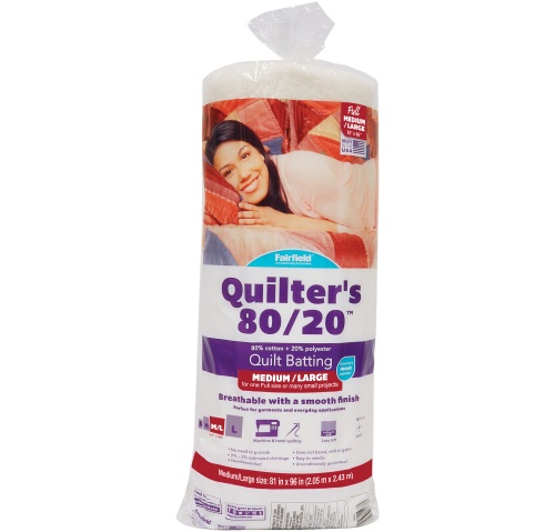 Quilters 80/20™ Batting 81″ X 96″