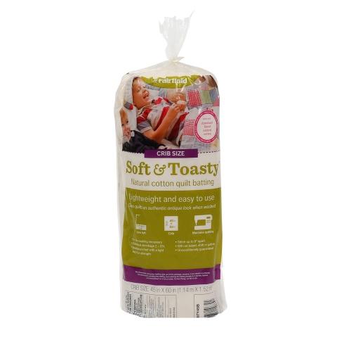 Soft & Toasty™ Natural Cotton Batting 45″ x 60″