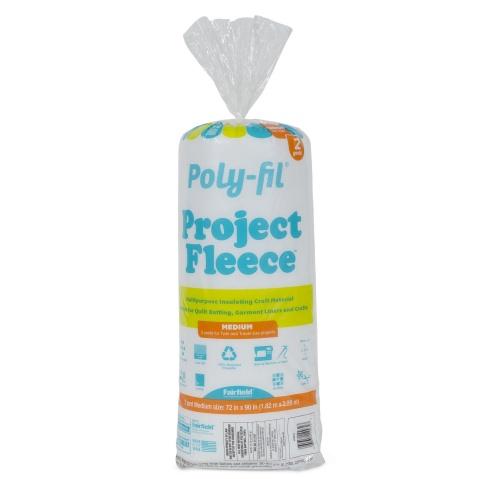 Poly-Fil® Project Fleece™ Batting 72″ x 90″