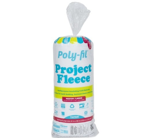 Poly-Fil® Project Fleece™ Batting 81″ x 96″