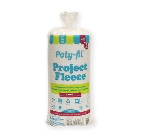 Poly-Fil® Project Fleece™ Batting 90″ x 108″