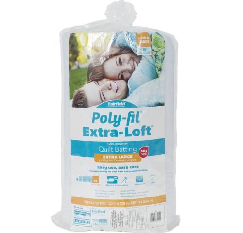 Poly-Fil Extra-Loft® Batting 120″ x 120″
