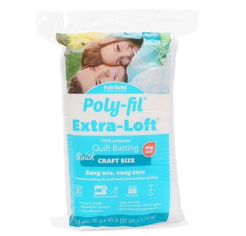 Poly-Fil Extra-Loft® Batting 36″ x 45″