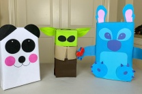 Valentine Boxes Made with Oly-Fun