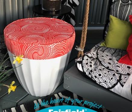 Turn an Ordinary Garden Pot into a Posh Outdoor Seat!