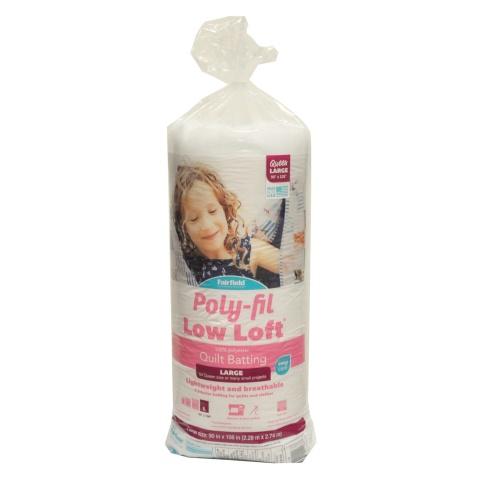 Poly-Fil Low-Loft® Batting 90″ x 108″