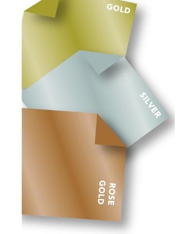 Oly-Fun® Craft Sheets – Metallic assortment