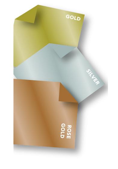Metallic Olyfun Non-woven material