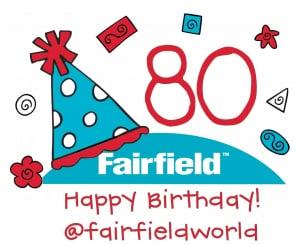 Happy Birthday fairfield - 80 Years!