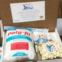 Gift Box for Fairfield's 80 days of Poly-fil!