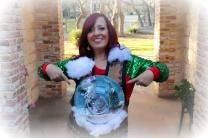 Giant Snow Globe Sweater DIY