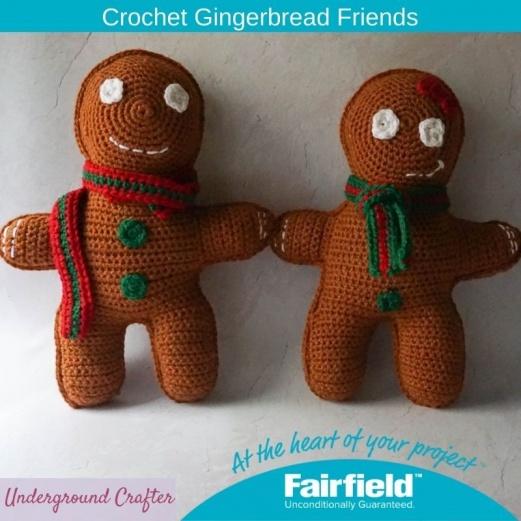 Crochet Gingerbread Friends