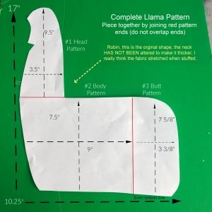 Llama Pattern Assembled