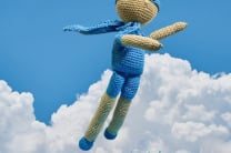 Crochet Super Hero Doll