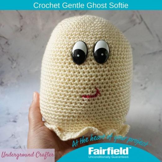 Crochet Gentle Ghost Softie